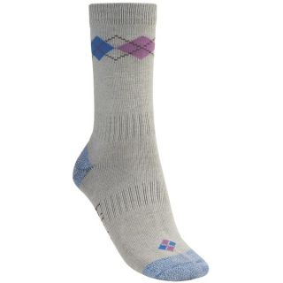 Bridgedale Argyle Socks (For Women)   LILAC (M )