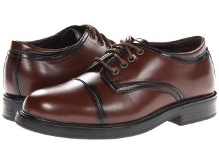 Soft Stags Lawson Mens Lace Up Cap Toe Shoes (Brown)