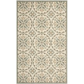 Safavieh Four Seasons Green / Brown Rug FRS218A Rug Size 5 x 8
