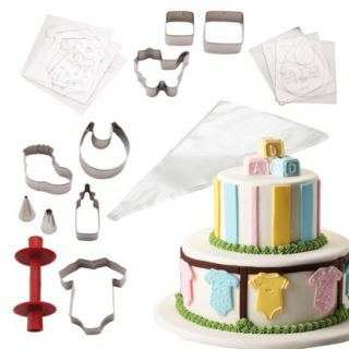 Cake Boss 25 Piece Baby Shower Cake Kit