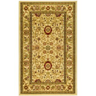 Lyndhurst Collection Majestic Ivory/ Ivory Rug (33 X 53)
