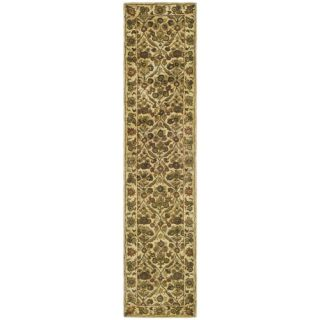 Safavieh Antiquities Garden Panel Gold Rug AT51C Rug Size 23 x 10