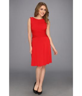 Calvin Klein Matte Jersey Dress CD3A12E1 Womens Dress (Red)