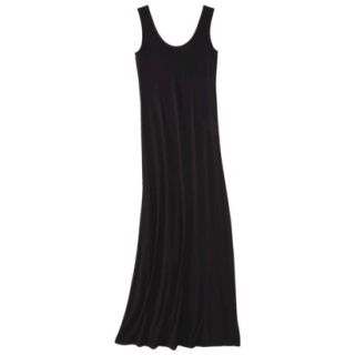 Merona Petites Sleeveless Maxi Dress   Black XSP