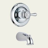 Delta Faucet T14178 LHP Leland Single Handle Tub Only Faucet Trim