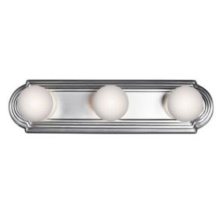 Kichler 5003CH Bathroom Light, Transitional Bath Strip 3Light Fixture Chrome