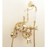 Herbeau 303160 Royale ROYALE EXPOSED TUB AND SHOWER MIXER WALL MOUNTED