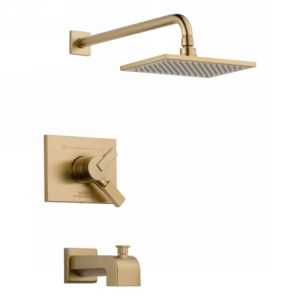 Delta Faucet T17453 CZ Vero Monitor 17 Series Tub & Shower Trim
