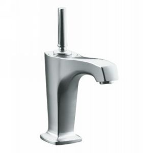 Kohler K 16230 4 CP Margaux One Handle Single Control Lavatory Faucet