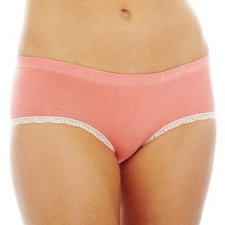 THE BODY Elle Macpherson Intimates Seamless Hipster Panties, Silver