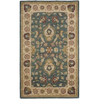 Safavieh Antiquities Blue/Beige Rug AT15A Rug Size 3 x 5