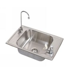 Elkay CDKAD2517VRC Celebrity ADA Compliant Single Bowl Classroom Sink Package wi