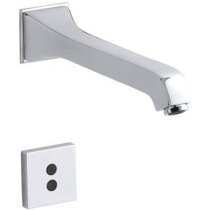 Kohler K T11838 CP Memoirs Wall Mount Faucet with 8 1/8 In. Spout with Insight T
