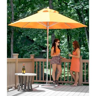 Frankford 11 ft. Commercial Aluminum Market Umbrella Terra Cotta   864CAM TRA
