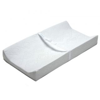 Summer Infant Contoured Changing Pad (WhiteStyle ContouredWaterproof Meets ASTM F2388 )