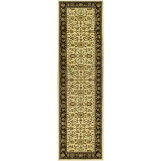 Lyndhurst Collection Majestic Ivory/ Black Runner (23 X 20)