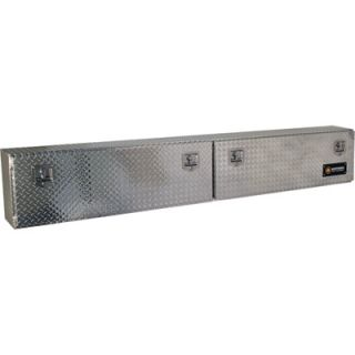 Locking Aluminum Top Mount Truck Box   96in. x 12in.