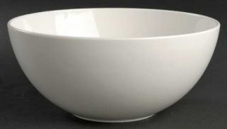 Christopher Stuart Cafe White 8 Round Vegetable Bowl, Fine China Dinnerware   A