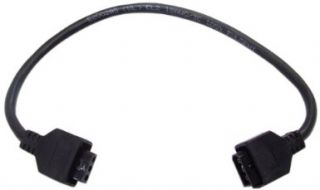 Kichler 12341BK LED Under Cabinet Light, 24V 9 LED Undercabinet Interconnect Cable Black