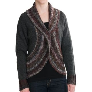Woolrich Kendal Creek Bolero Sweater   Lambswool (For Women)   ONYX (M )