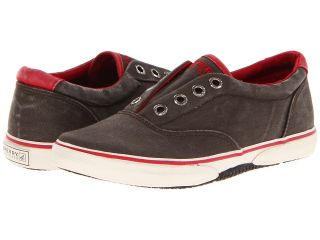 Sperry Top Sider Kids Halyard Laceless S/O Boys Shoes (Brown)