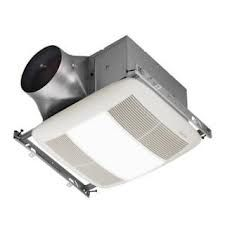 Nutone ZN110L Bathroom Fan, 110 CFM Dual Speed ULTRA X2 Series w/ Light amp; Energy Star Rated for 6 Duct