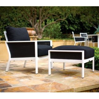 AMCO Industrial Corp Koverton Parkview Outdoor Wicker Deep Seating Club Chair