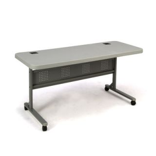 National Public Seating Commercialine Blow Molded Flip N Store Table BPFT2460