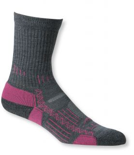 Womens Ascent Hiking Sock, Lightweight Crew