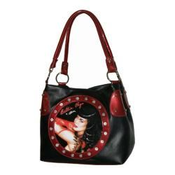 Womens Bettie Page Signature Product Bettie Page??? Bag Vixen1013 Black