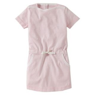 Burts Bees Baby Toddler Girls Boatneck Dress   Blush 3T