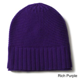 Ply Cashmere Ribbed Hat (100 percent cashmereClick here to view our hat sizing guide)