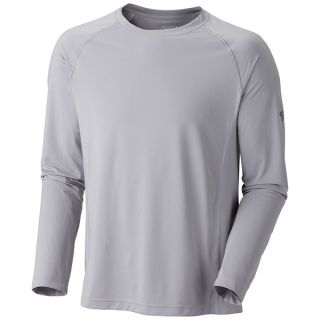 Mountain Hardwear Justo Trek T Shirt   UPF 50  Long Sleeve (For Men)   411 IMPULSE BLUE (L )