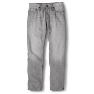Mossimo Supply Co. Mens Slim Straight Fit Jeans   Gray 32X30