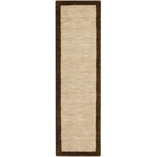 Safavieh Himalayan Beige/Dark Brown Rug HIM585A Rug Size Runner 23 x 8