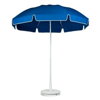 Frankford 7.5 ft. Standard Manual Lift Fiberglass Patio Umbrella with White