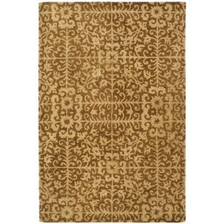 Safavieh Antiquities Gold/Beige Rug AT411A Rug Size 4 x 6