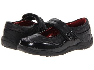 Kenneth Cole Reaction Kids Way On Words Jr Girls Shoes (Black)