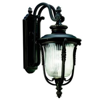 Kichler 49002RZ Outdoor Light, European Wall 1 Light Fixture Rubbed Bronze