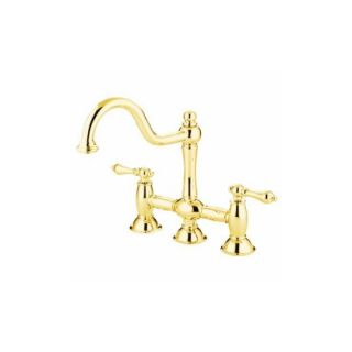 Elements of Design ES3782AL Chicago Two Handle Kitchen Faucet