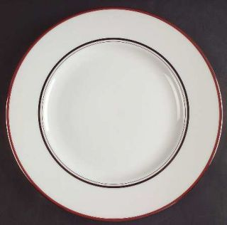 Lenox China Library Lane Coral Dinner Plate, Fine China Dinnerware   Kate Spade,