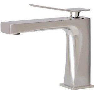 Aquabrass AB 19014 PC Chicane Single Hole Lavatory Faucet