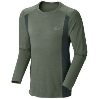 Mountain Hardwear Integral T Shirt   UPF 25  Long Sleeve (For Men)   SHARK (L )