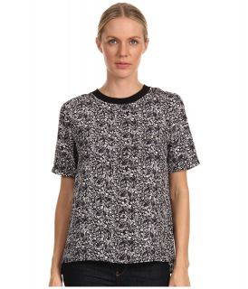 Theory Klima Top Womens Blouse (Black)