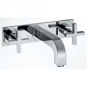 Hansgrohe 39144821 Axor Citterio Two Handle Wall Mounted Widespread Faucet w/Cro