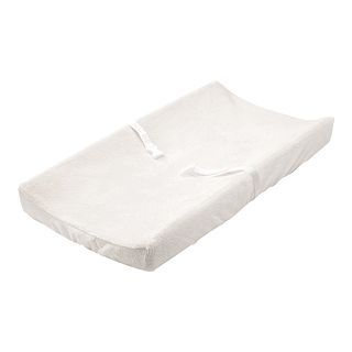 Summer Infant 2 pk. Ultra Plush Changing Pad Cover   White, Girls