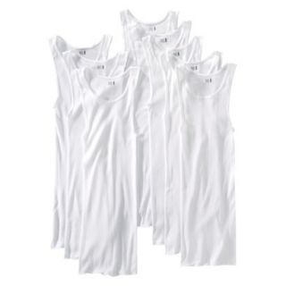 Fruit of the Loom Mens A Shirt 8Pack   White S