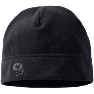 Mountain Hardwear Micro Dome Beanie Hat   Fleece (For Men)   BLACK (REGULAR )