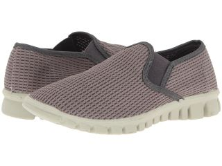 Deer Stags Dynasty Womens Slip on Shoes (Gray)