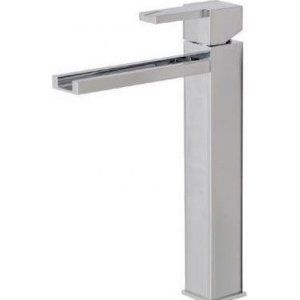Aquabrass AB 77320 BN Streem Tall Single Hole Lavatory Faucet